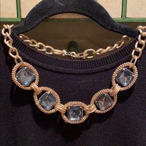 Jewelry - Gold Jewel Costume Necklace